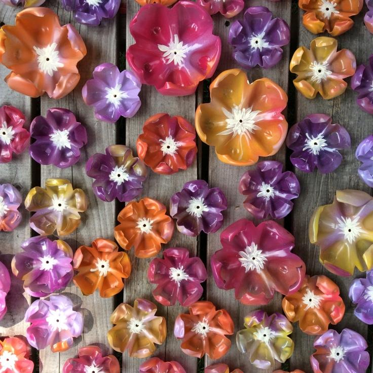 Water Bottle Flowers